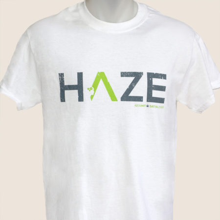 haze white tshirt t-shirt marijuana 420 white