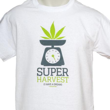 super harvest camiseta 420 weed ganja marijuana shirt